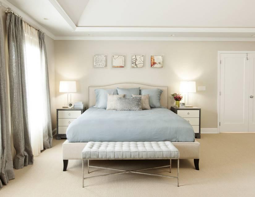 Какой тон и цветовую палитру лучше всего выбрать в спальную комнату