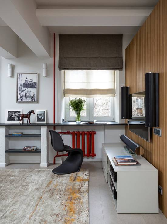 Стол-подоконник в детской (26 фото): встроенная столешница в комнате школьника, конструкции вместо стола для подростка