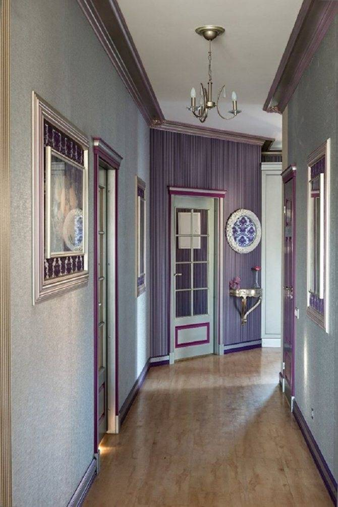 Покраска стен в коридоре в квартире: какие выбрать материалы и оттенки цвета, как провести процедуру своими руками и фото дизайна