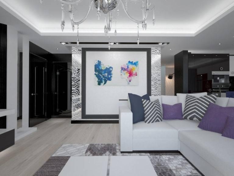 Дизайн квартиры в светлых тонах - современный стиль (92 фото): красивый проект классического интерьера