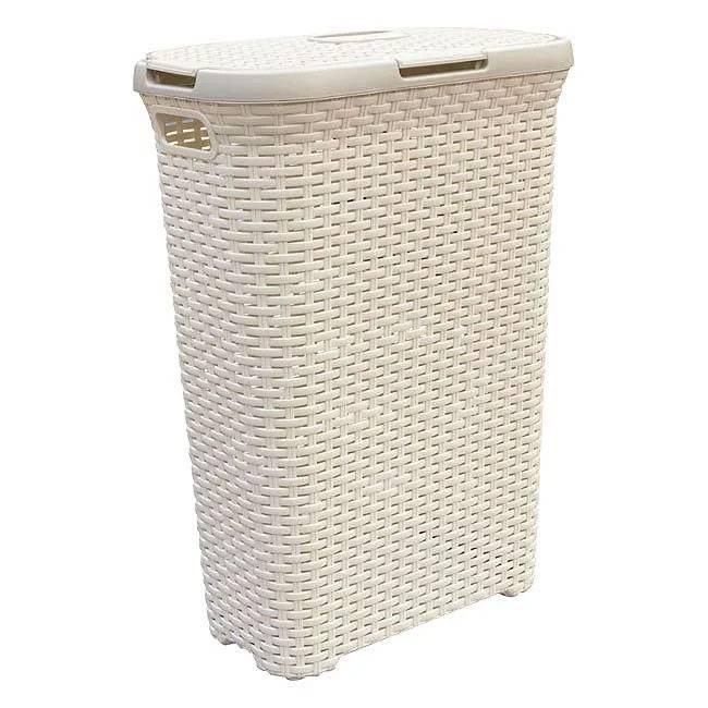 Бельевые корзины в ванную комнату — какие бывают