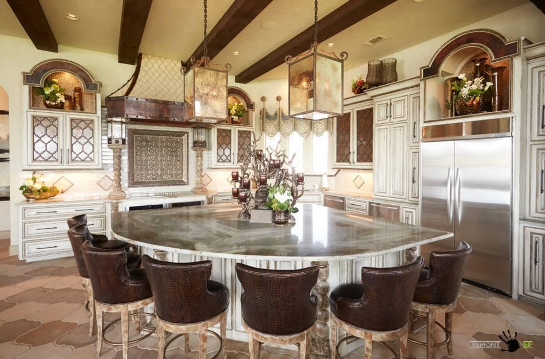 Дизайн кухни в частном доме: 50 фото самых удачных интерьеров