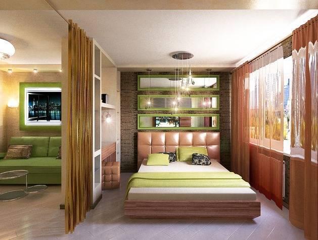 Интерьер комнаты 17 кв. м: спальня-гостиная, фото и 4 рекомендации дизайнеров