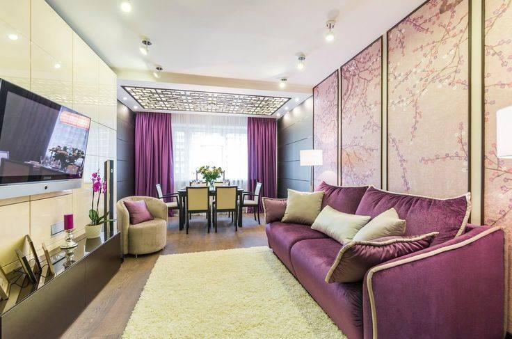 Синий диван в интерьере гостиной: 200+ фото с чем сочетать