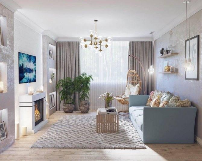 Как создать гармоничный интерьер маленькой гостиной?