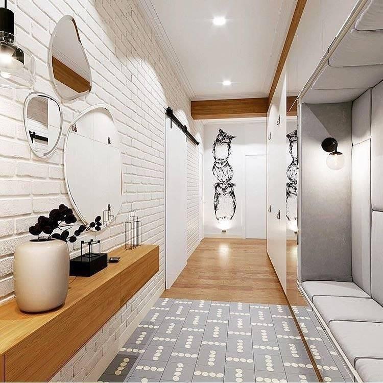 Узкая прихожая (90 фото): выбираем мебель в интерьер коридора квартиры, дизайн длинной и маленькой прихожей, современные идеи