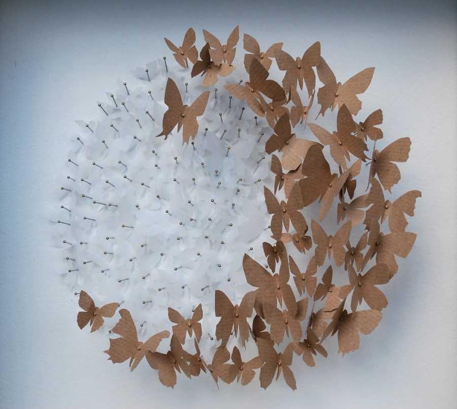 Декор из бумаги: идеи и мастер-классы. делаем яркие поделки из бумаги своими руками: помпоны из бумаги, гирлянда, флажки, сердечки, кружочки и кольца, цветочные декорации
