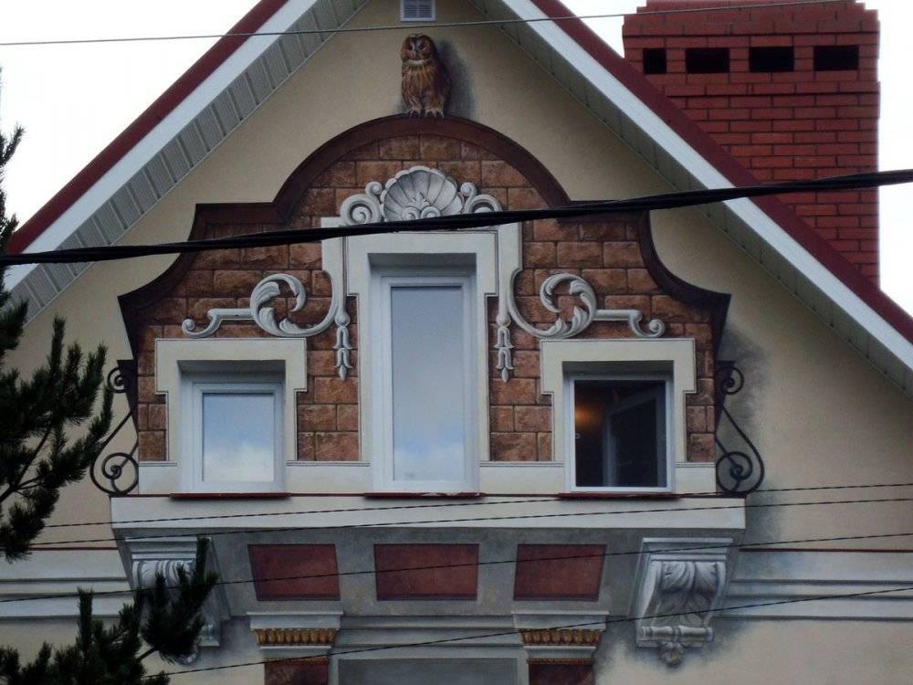 Декоративная штукатурка для фасада дома: виды и особенности