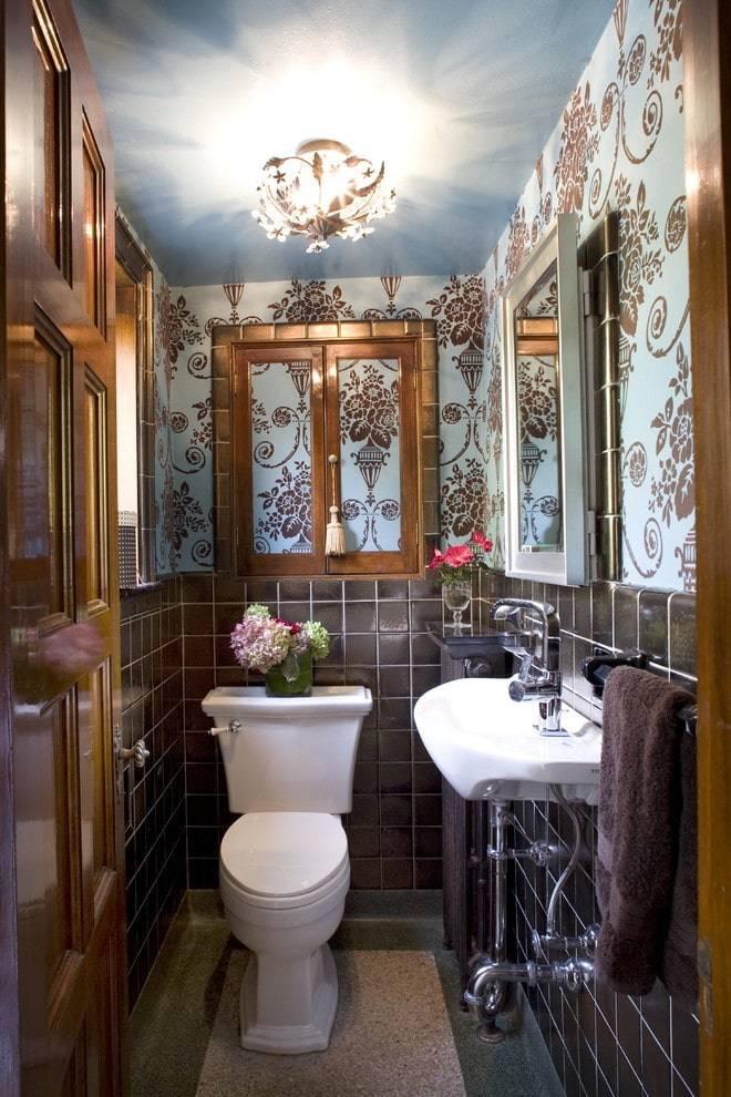 Отделка туалета: варианты и идеи дизайна