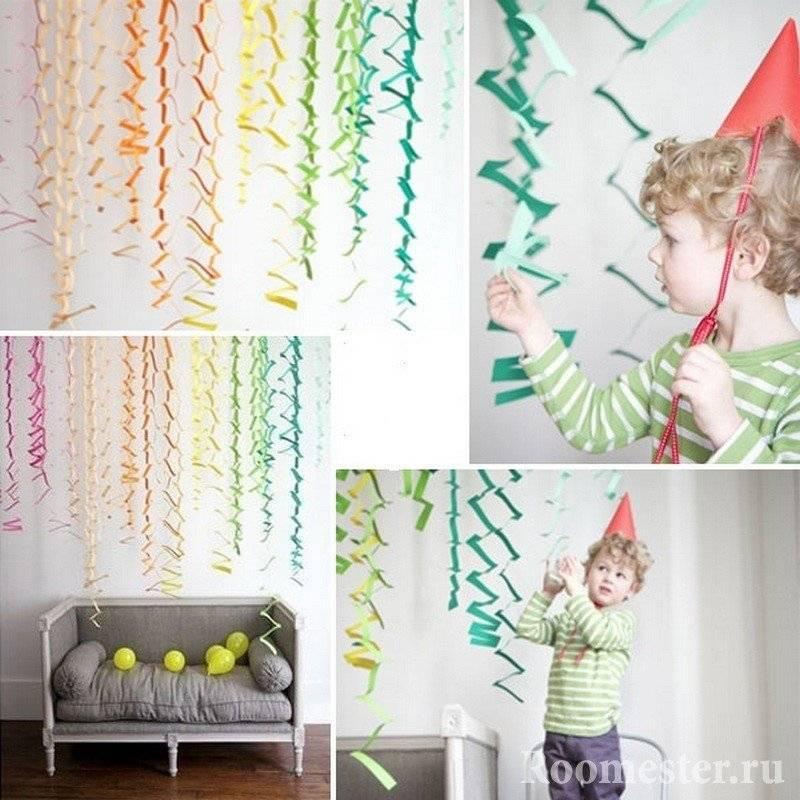 Гирлянда из бумаги (55 фото): как сделать бумажные украшения своими руками? идеи для гирлянды из цветной гофрированной бумаги