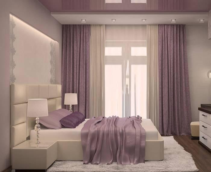 Тонкости оформления спальни в серых тонах