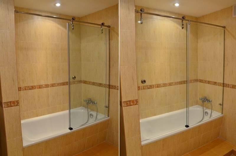 Как делается ширма для ванной (35 фото) и как ее выбрать