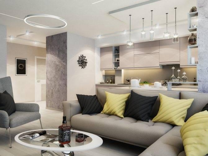 Советы от дизайнеров для хозяев больших кухонь-гостиных 22 квадратных метра
