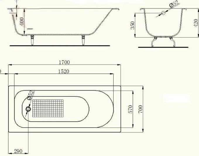 Угловая ванна — виды и размеры, варианты угловых ванн (фото, видео)