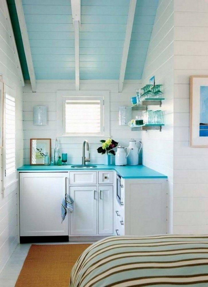 Кухни голубого цвета в интерьере – лучшие сочетания цветов