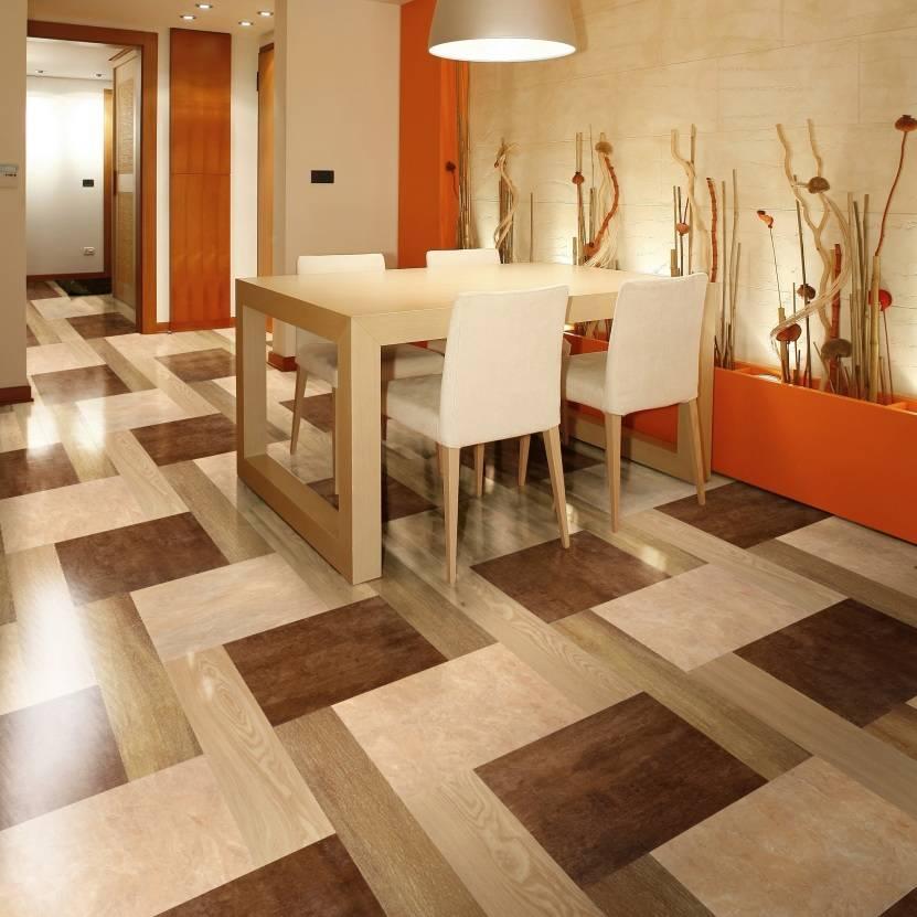 Линолеум в интерьере +75 фото примера - «декор» » дизайна и строительство.