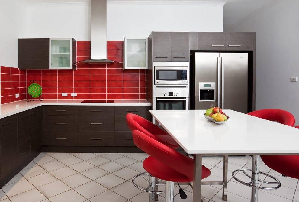Шоколадный цвет в интерьере кухни - 78 фото красивого интерьеракухня — вкус комфорта