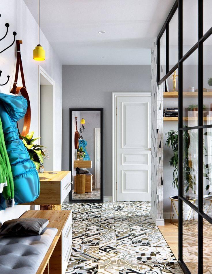 Как оформить интерьер коридора и прихожей в скандинавском стиле?