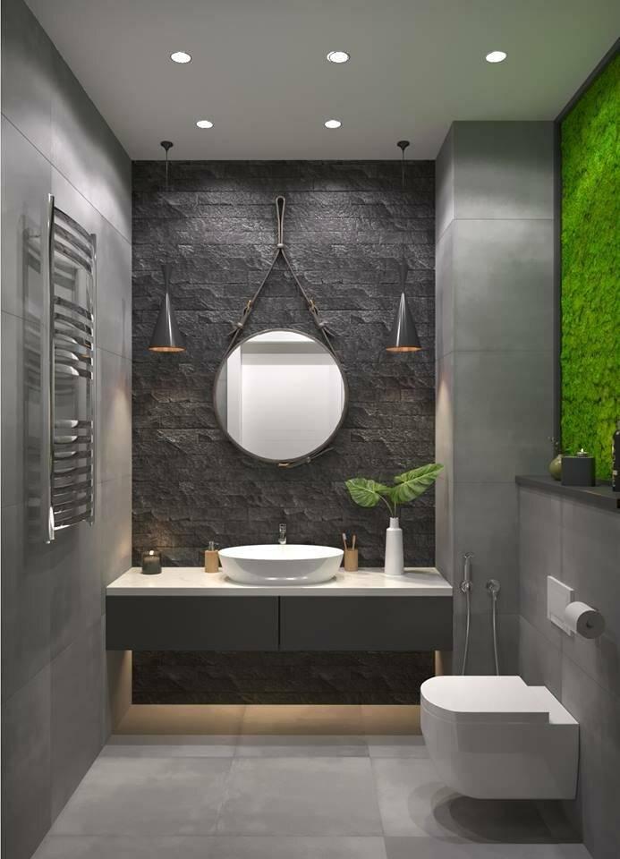 Современные идеи дизайна ванной комнаты 2018-2019 годов