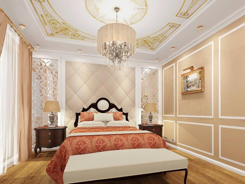 Спальня в классическом стиле (72 фото): классика дизайна, светлая и коричневая мебель в интерьере. выбор обоев для маленькой и большой спальни