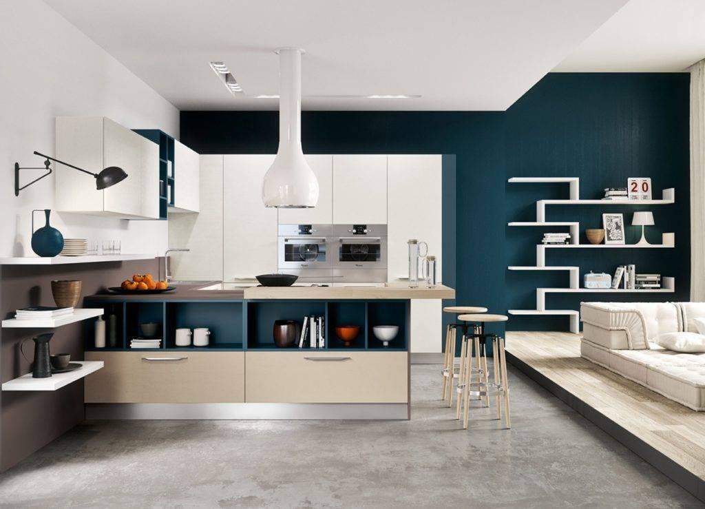 Дизайн кухни хай-тек: характерные черты, цветовые решения и особенности отделки