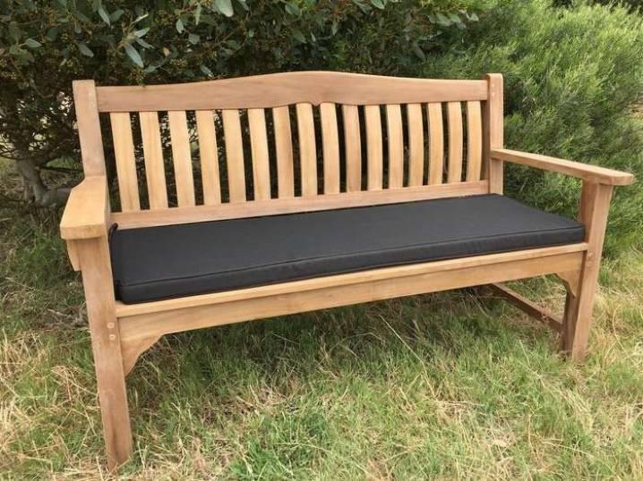 Как сделать деревянную скамейку для дачи своими руками