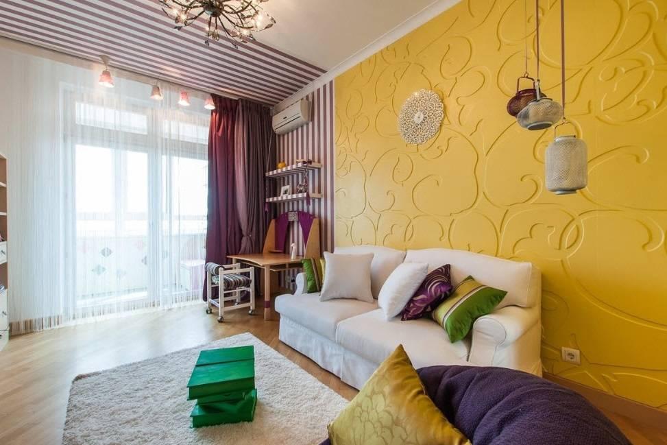 В какой цвет покрасить стены в зале и в гостиной: идеи нестандартного дизайна 2018 года и универсальные варианты покраски в стиле классика