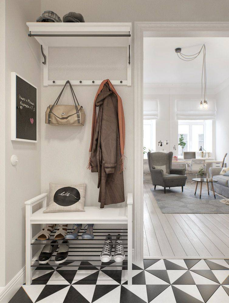 Малогабаритная квартира в скандинавском стиле — простой и элегантный интерьер