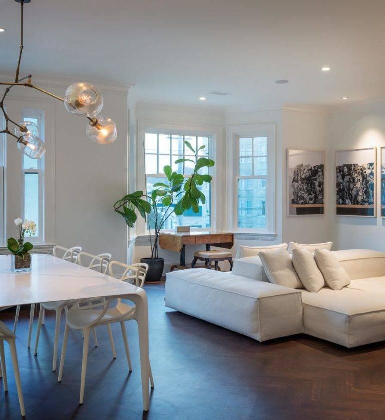 Правильное освещение гостиной и 5 способов заменить люстру