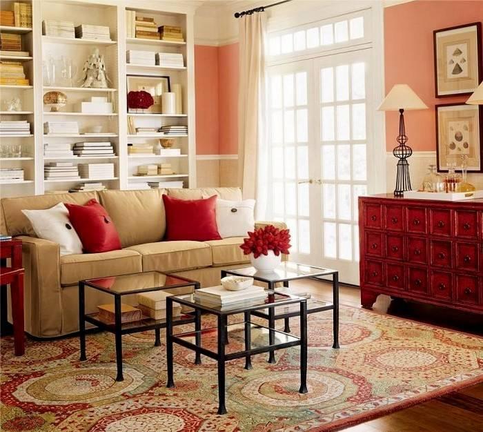 Красный цвет в интерьере кухни: 5 подсказок и 85 вдохновляющих фото