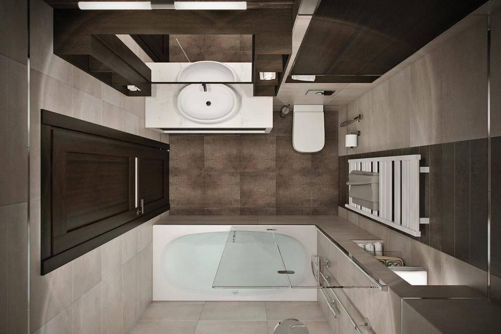 Дизайн ванной комнаты 6 кв. м. - 105 фото стильных и современных идей оформления ванной
