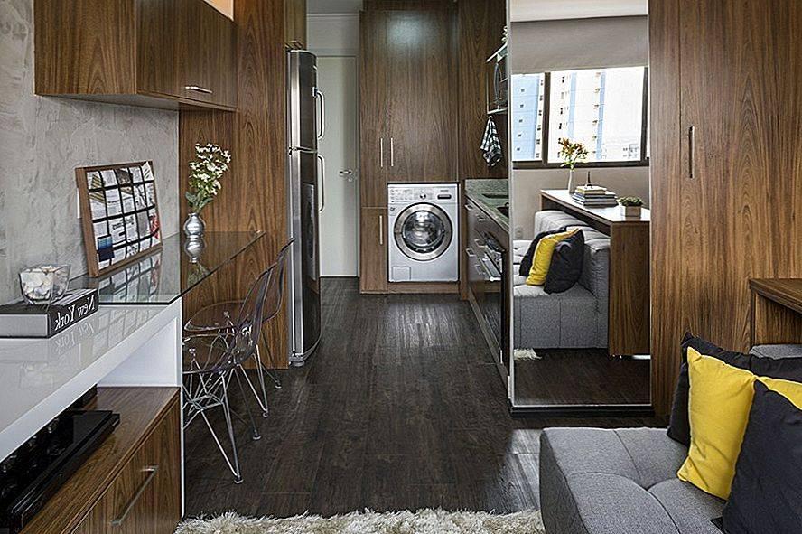 Дизайн квартиры студии 20 кв. м. 5 фото-проектов – ваш надёжный дом