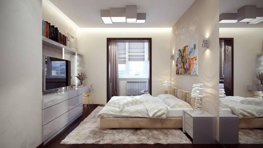 Актуальные дизайны спальни 13 кв.м: фото и 3 важных элемента
