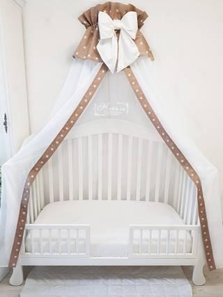 Варианты выбора дизайна и стиля балдахина для детской кровати
