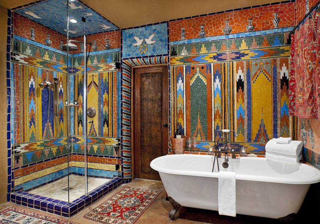 Восточный стиль в интерьере: 215+ (фото) в спальне/ кухне/ ванной