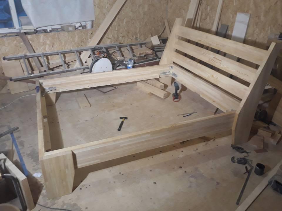 Ничего лишнего: простейшие конструкции кроватей, которые можно сделать самому