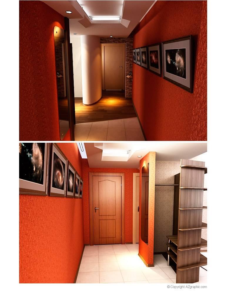 Дизайн коридора в квартире: 7 приемов+69 свежих идей