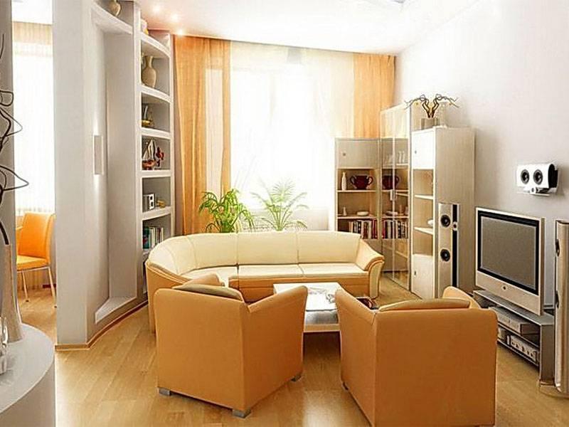 Большая гостиная: небольшие дизайнерские идеи для создания красивой комнаты (100 фото)