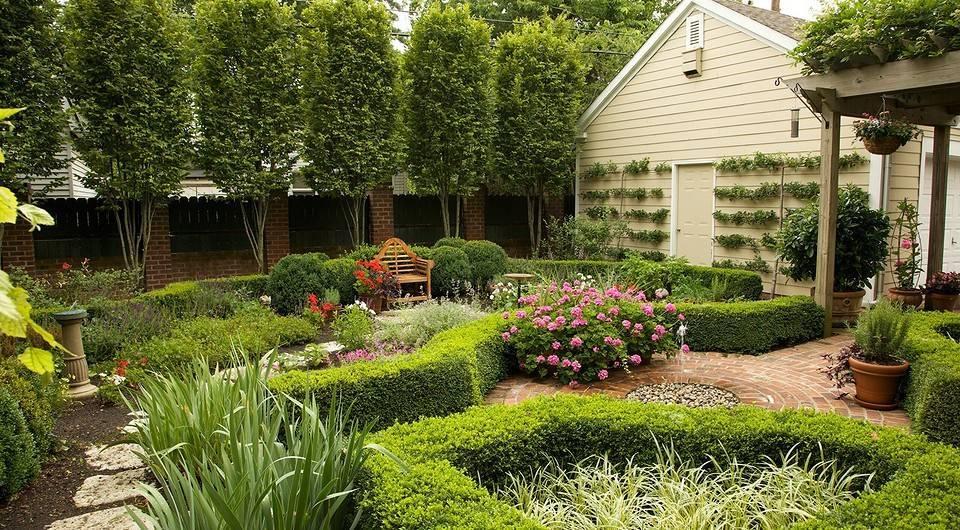 Планировка плодово-фруктового сада и огорода - примеры и правила
