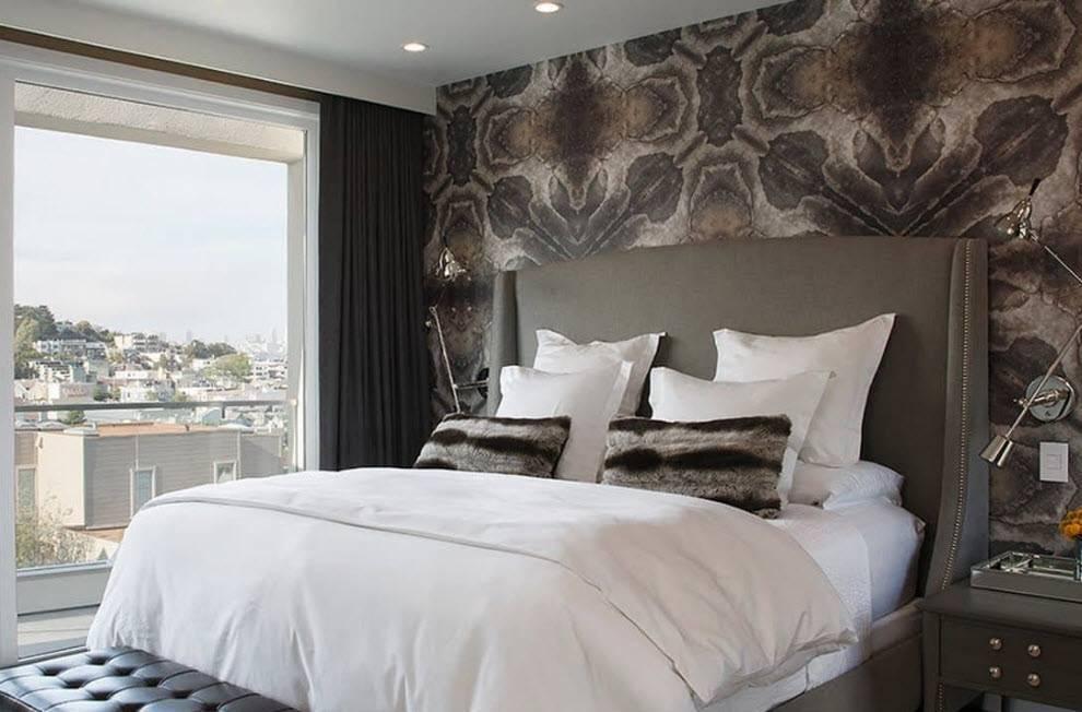 Интерьер спальни в современном стиле (85 фото)
