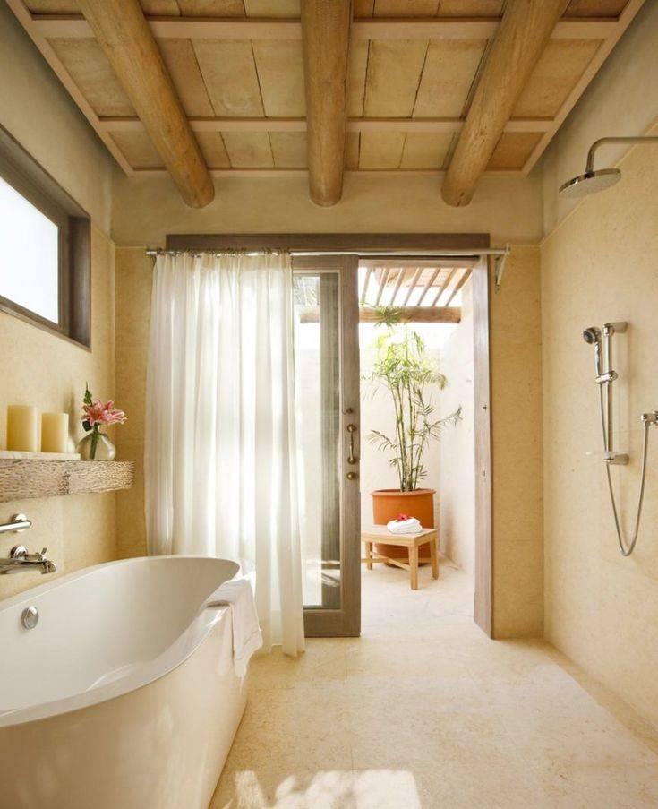 Какой лучше сделать потолок в ванной - решение вопроса