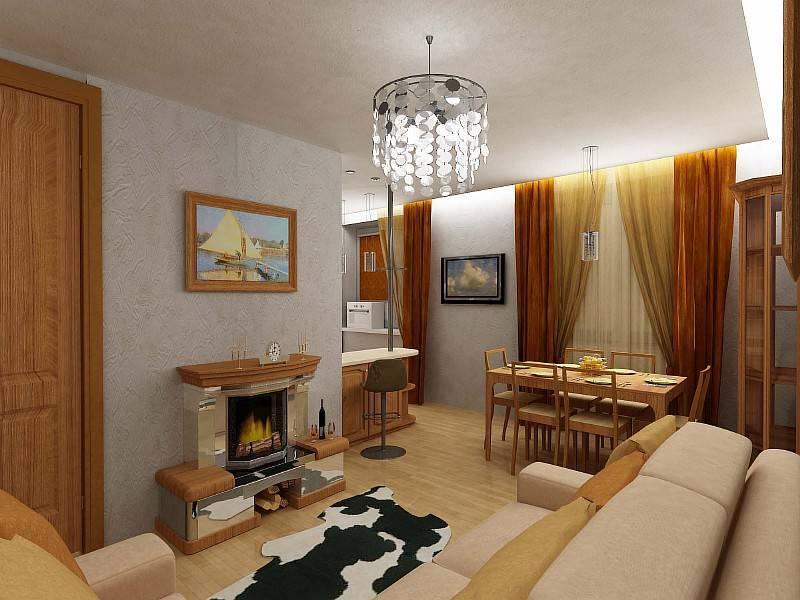 Дизайн двухкомнатной квартиры 60 кв. м (79 фото): варианты оформления интерьера 2-х комнатного помещения, примеры красивых проектов