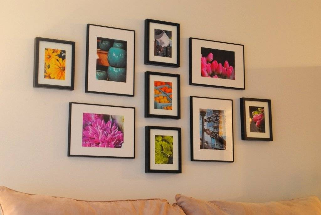 Оформление стены фотографиями: яркие мгновенья жизни в интерьере - happymodern.ru