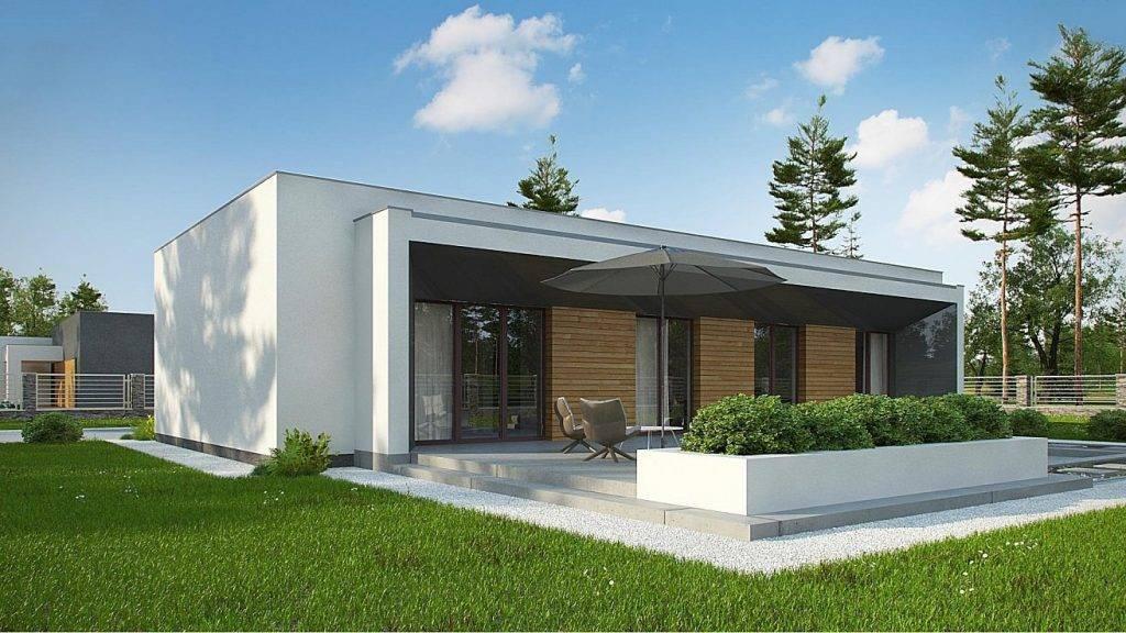 Дом с плоской крышей (+60 фото): достоинства и недостатки, стоимость строительства плоской крыши