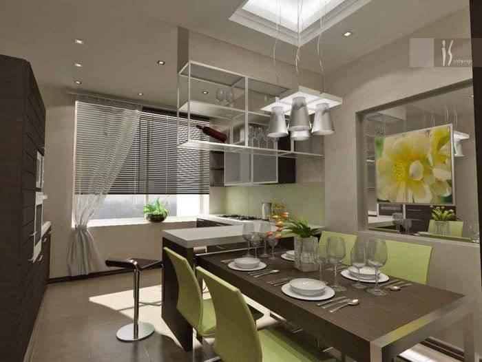 Дизайн кухни 13 кв м — 50 фото идей по обустройству