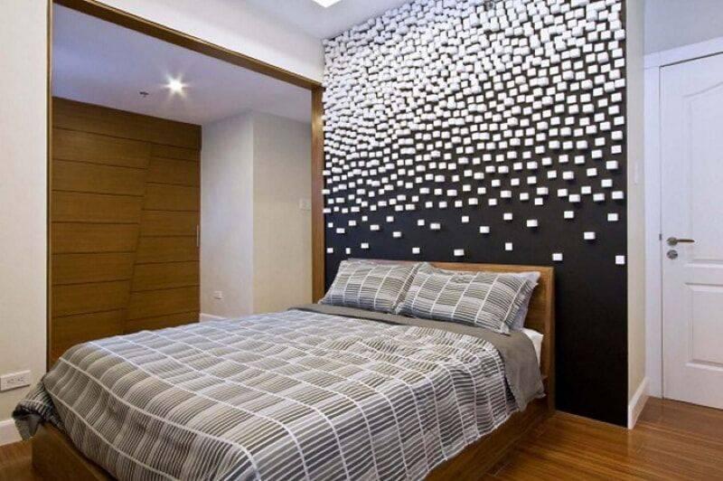 Изголовье кровати – элитная зона декора спальни - 106 фото примеров