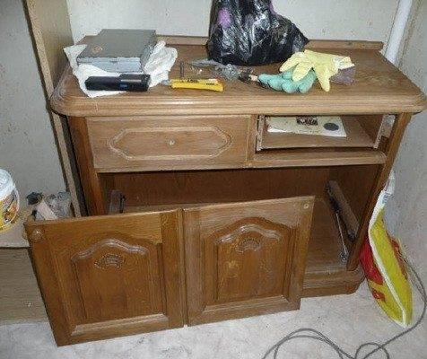 Можно ли покрасить лдсп мебель? - папа карло
