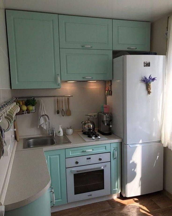 Мебель для кухни в хрущевке: 110+ фото примеров размещения