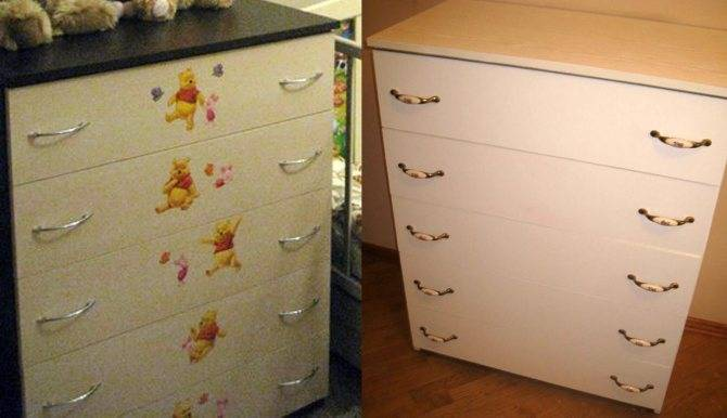 Покрасить шкаф из дсп своими руками