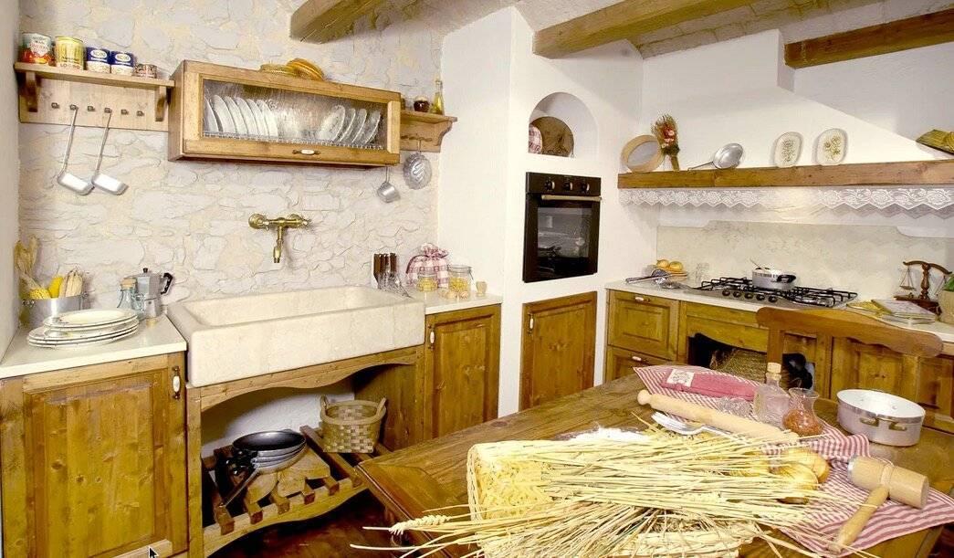 Кухня в стиле кантри: оформление деревенского интерьера по правилам